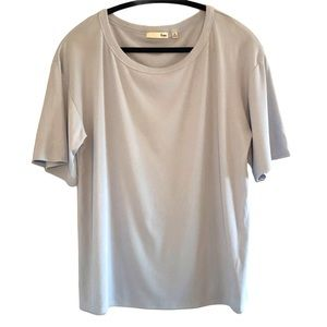 Aritzia Wilfred Free Short Sleeve Slouchy Basic T